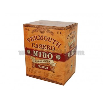 Bag in box Vermouth Miró 5lts